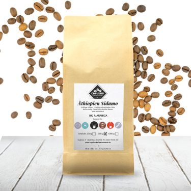 CAPULUS Kaffee Aethiopien-Sidamo 500g