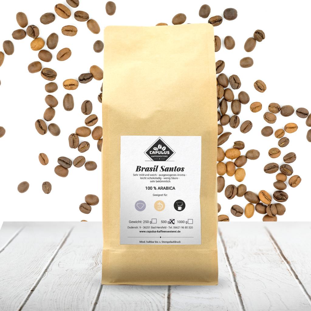 CAPULUS Kaffee Brasil-Santos 500g