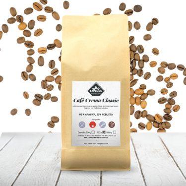 CAPULUS Kaffee Cafe-Crema-Classic 500g