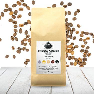 CAPULUS Kaffee Columbia-Supremo 500g