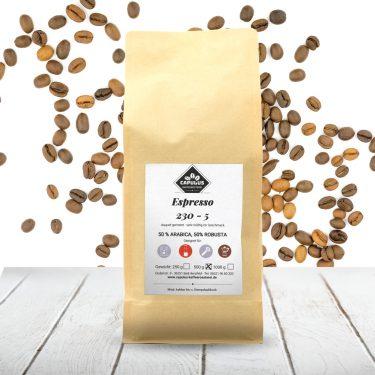 CAPULUS Kaffee Espresso-230-5 500g