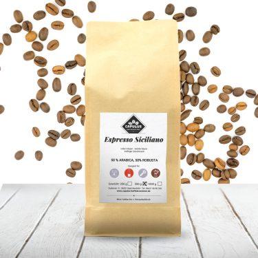 CAPULUS Kaffee Espresso-Siziliano 500g