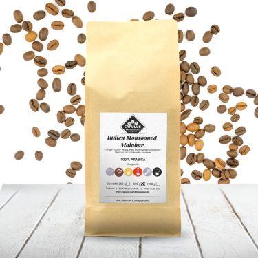 CAPULUS Kaffee Indien-Monsooned-Malabar 500g
