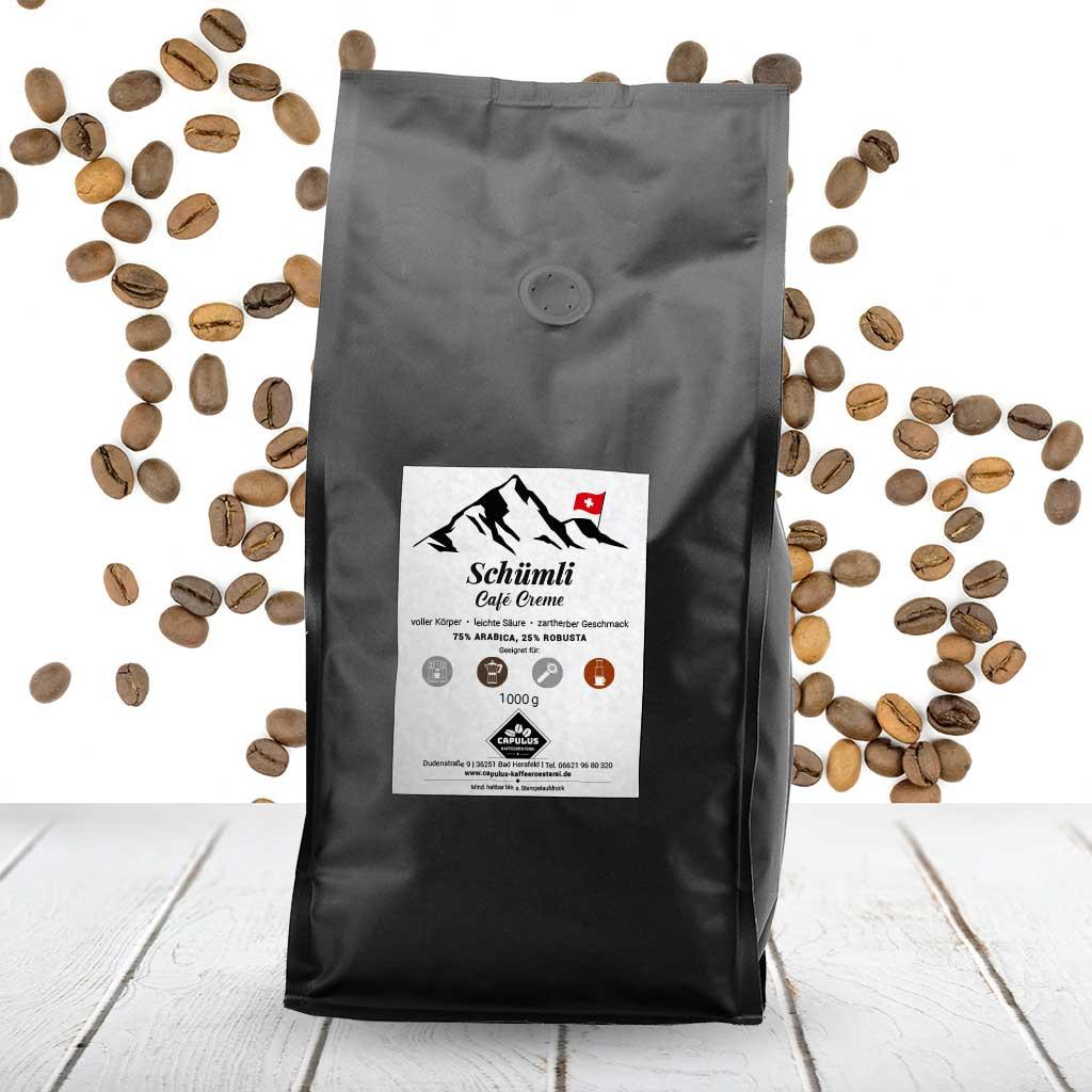 CAPULUS Kaffee Schuemli 1000g