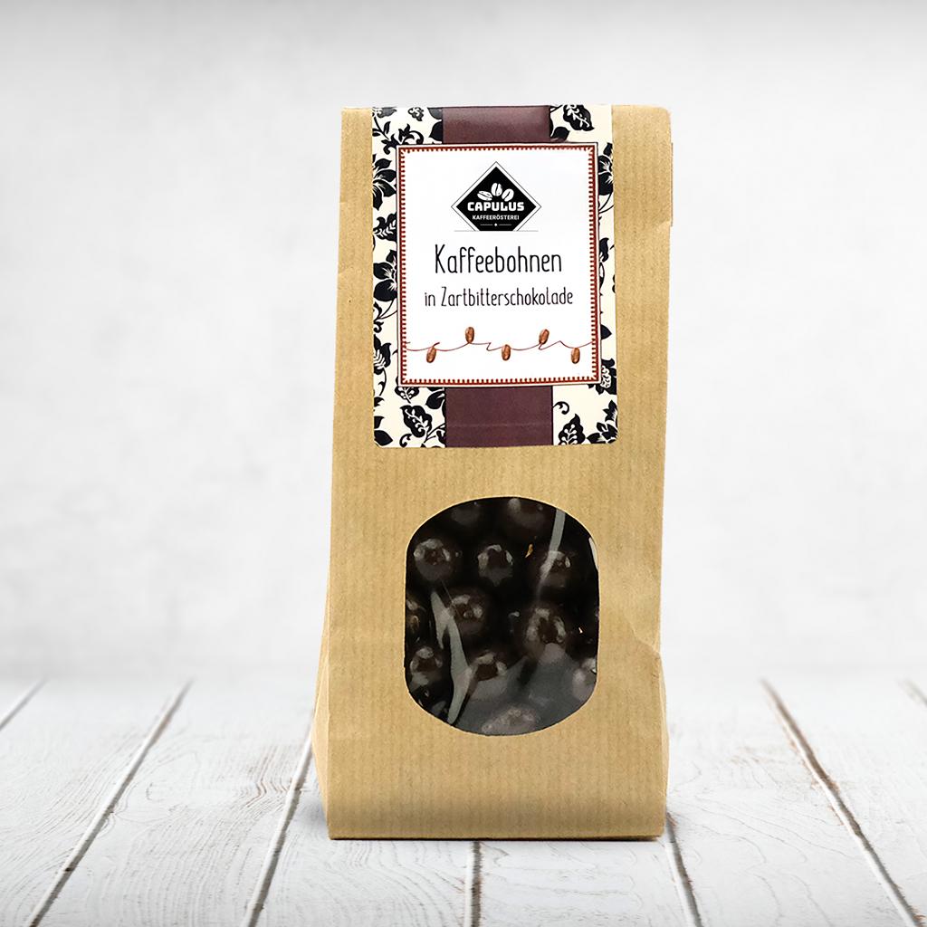 CAPULUS Süsses DeWi Kaffeebohnen-Zartbitter