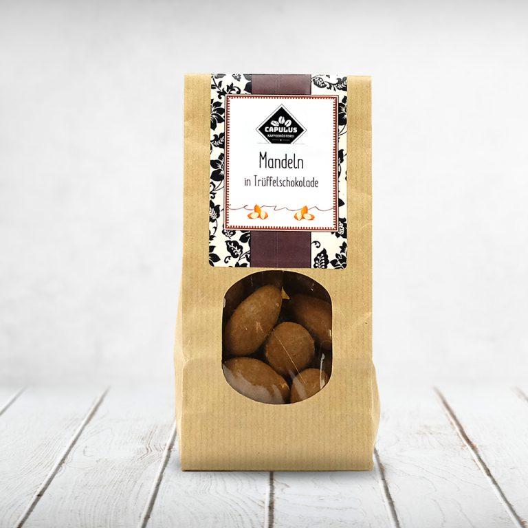 CAPULUS Süsses DeWi Mandeln-Trueffel