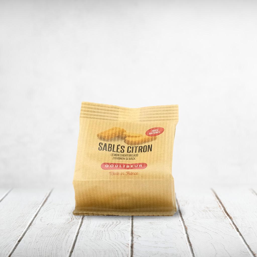 CAPULUS Süsses Sables Zitronengebäck klein