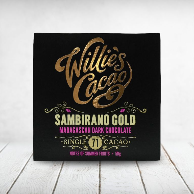 CAPULUS Süsses Willies-Cacao Dark_Sambirano-Gold
