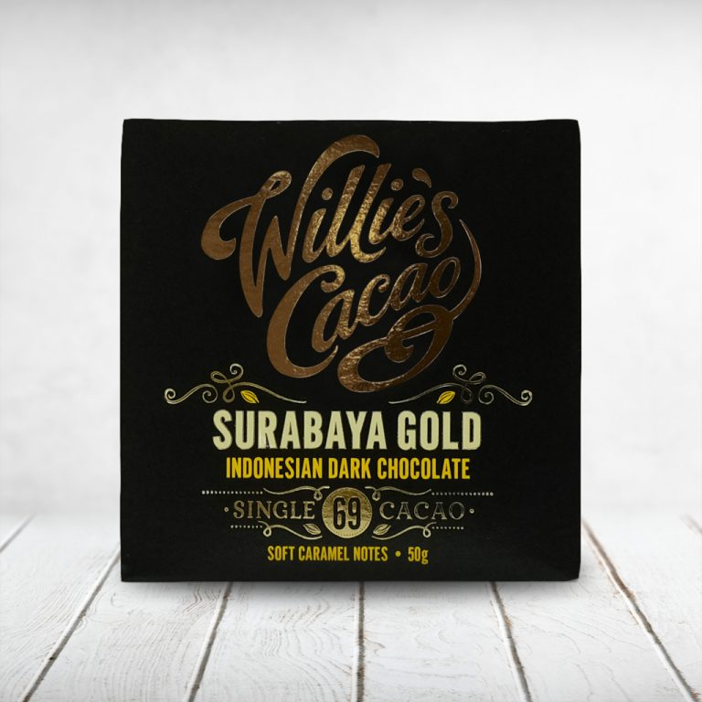 CAPULUS Süsses Willies-Cacao Dark_Surbaya-Gold