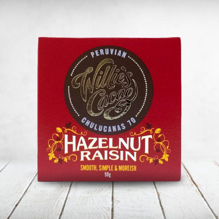 CAPULUS Süsses Willies-Cacao Hazelnut-Raisin